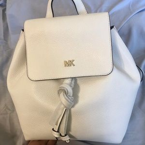 Authentic Michael Kors flap backpack